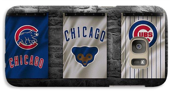 Chicago Cubs Galaxy Case by Joe Hamilton