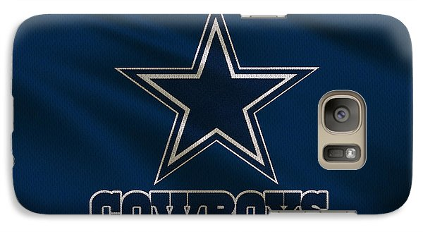 Dallas Cowboys Uniform Galaxy S7 Case by Joe Hamilton