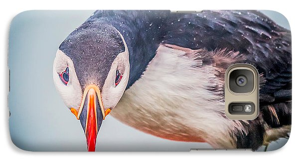 Atlantic Puffin Fratercula Arctica Galaxy S7 Case by Panoramic Images