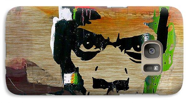 Jay Z Galaxy S7 Case by Marvin Blaine