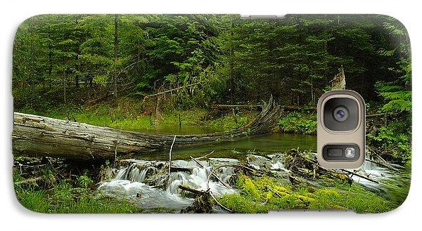 A Beaver Dam Overflowing Galaxy S7 Case by Jeff Swan