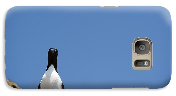 A Curious Bird Galaxy Case by Anne Gilbert
