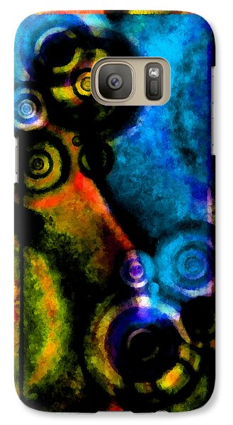 A Drop In The Puddle 2 Galaxy Case by Angelina Vick