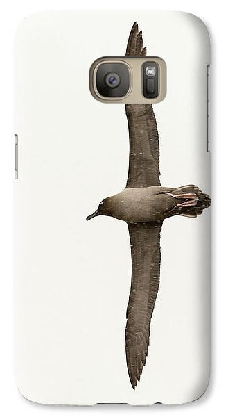 A Light Mantled Albatross Galaxy S7 Case by Ashley Cooper