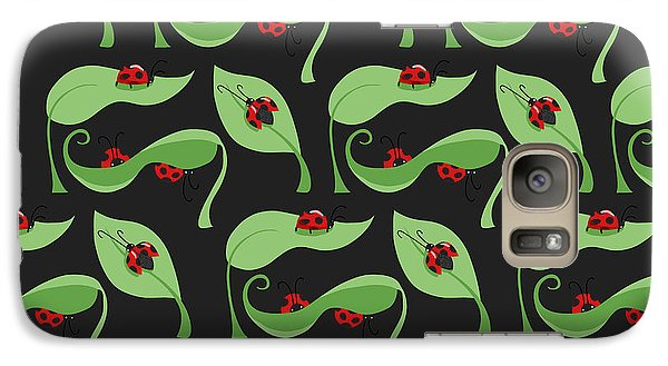 A Litte Bug Galaxy S7 Case by Debra  Miller