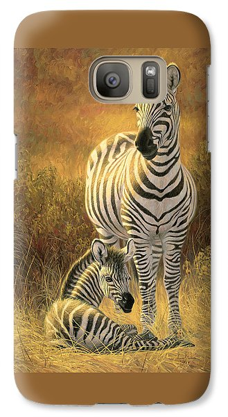 A New Day Galaxy Case by Lucie Bilodeau