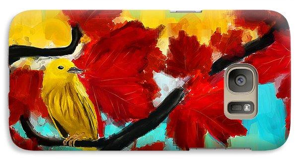 A Ponder Galaxy S7 Case by Lourry Legarde