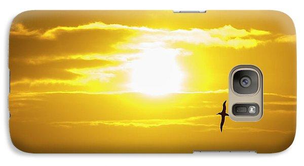 A Wandering Albatross Galaxy S7 Case by Ashley Cooper