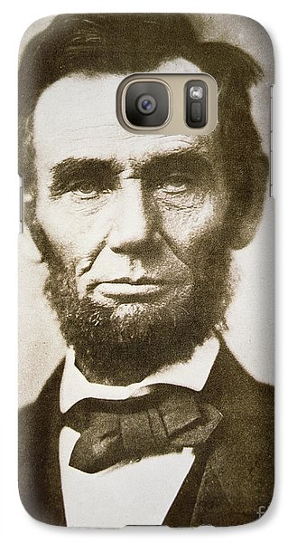 Abraham Lincoln Galaxy Case by Alexander Gardner