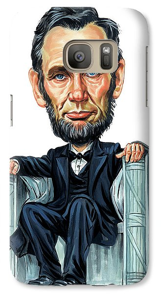 Abraham Lincoln Galaxy S7 Case by Art