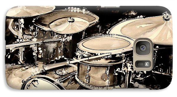 Abstract Drum Set Galaxy Case by J Vincent Scarpace