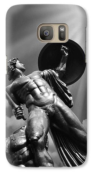 Achilles Galaxy Case by Mark Rogan
