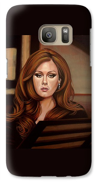 Adele Galaxy S7 Case by Paul Meijering