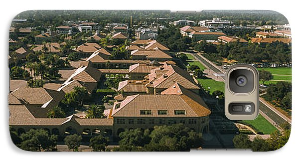 Aerial View Of Stanford University Galaxy Case by Panoramic Images
