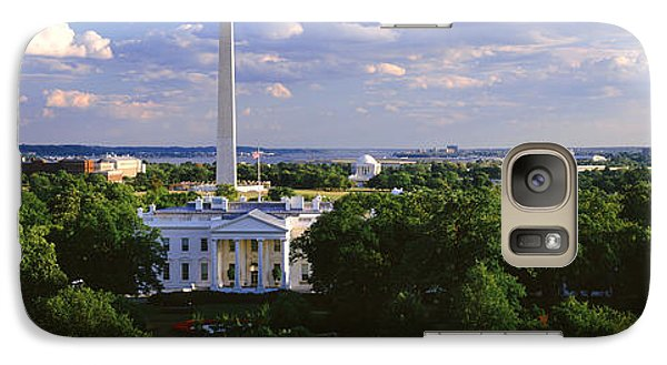 Aerial, White House, Washington Dc Galaxy Case by Panoramic Images