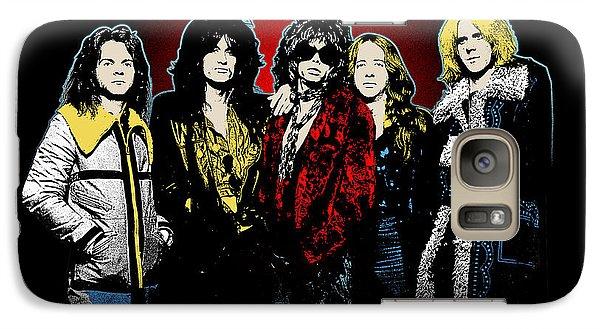 Aerosmith - 1970s Bad Boys Galaxy S7 Case by Epic Rights
