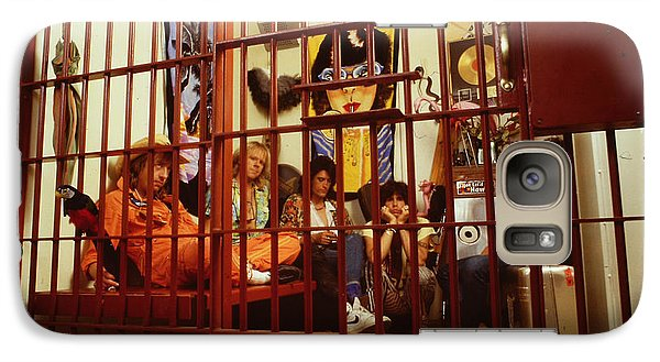 Aerosmith - In A Cage 1980s Galaxy S7 Case by Epic Rights
