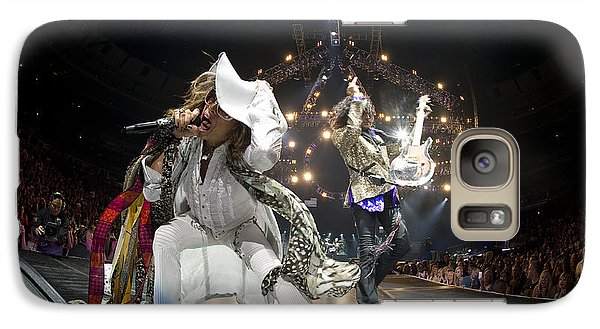 Aerosmith - On Stage 2012 Galaxy S7 Case by Epic Rights