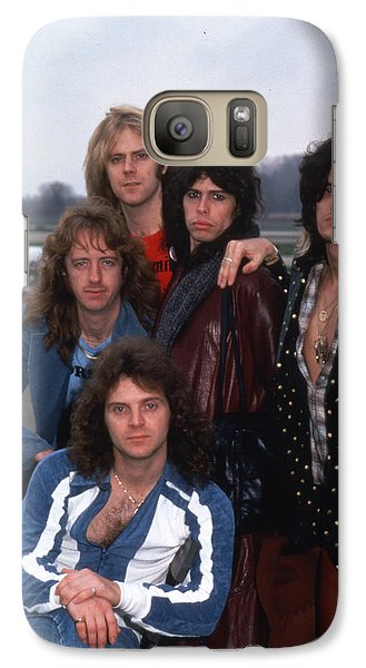 Aerosmith - Terre Haute 1977 Galaxy S7 Case by Epic Rights