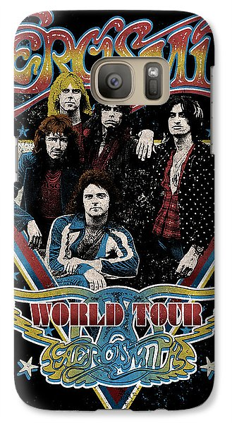 Aerosmith - World Tour 1977 Galaxy S7 Case by Epic Rights