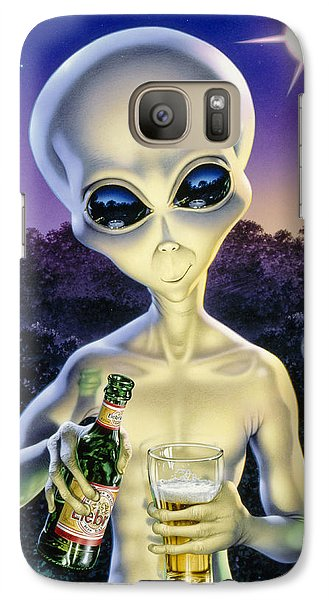 Alien Brew Galaxy Case by Steve Read