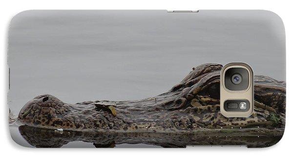 Alligator Eyes Galaxy S7 Case by Dan Sproul