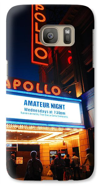 Amateur Night Galaxy Case by James Kirkikis
