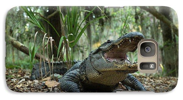 American Alligator (alligator Galaxy S7 Case by Pete Oxford