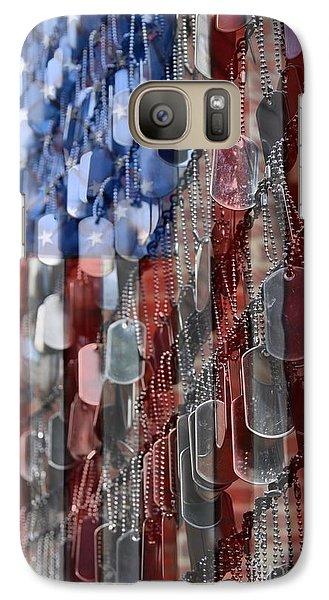 American Sacrifice Galaxy S7 Case by DJ Florek