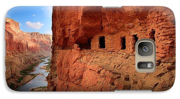 Anasazi Granaries Galaxy S7 Case by Inge Johnsson