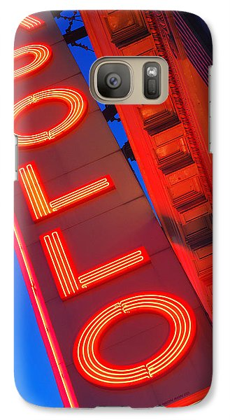 Apollo Nights Galaxy Case by James Kirkikis