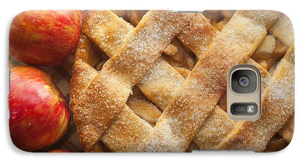 Apple Pie With Lattice Crust Galaxy S7 Case by Diane Diederich