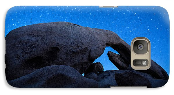 Arch Rock Starry Night 2 Galaxy Case by Stephen Stookey