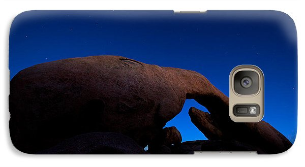 Arch Rock Starry Night Galaxy S7 Case by Stephen Stookey