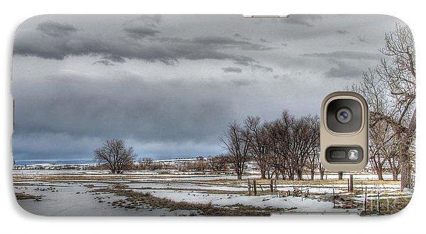 Galaxy Case featuring the photograph Ardmore Prairie by Bill Gabbert