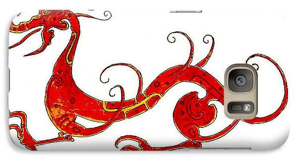 Asian Dragon Galaxy Case by Michael Vigliotti