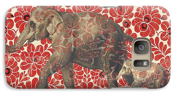 Asian Elephant-jp2185 Galaxy S7 Case by Jean Plout