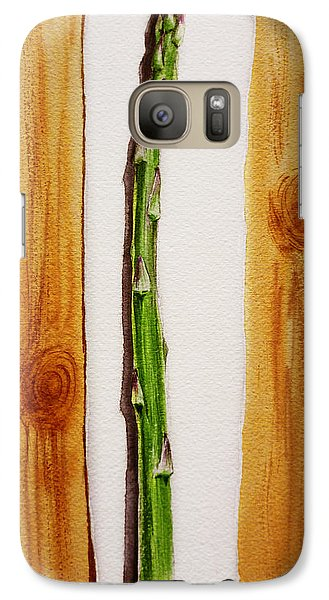 Asparagus Tasty Botanical Study Galaxy Case by Irina Sztukowski