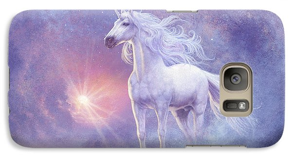 Astral Unicorn Galaxy S7 Case by Steve Read