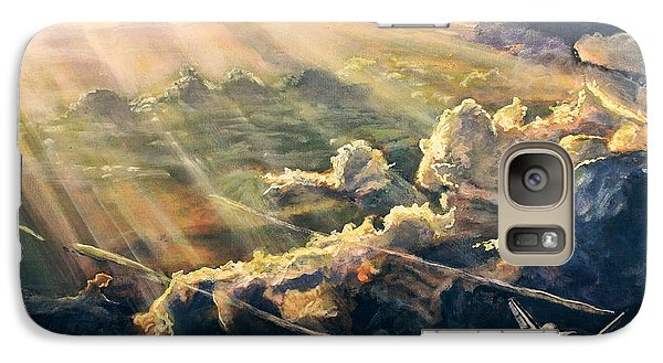 Atlantis Galaxy Case by Simon Kregar
