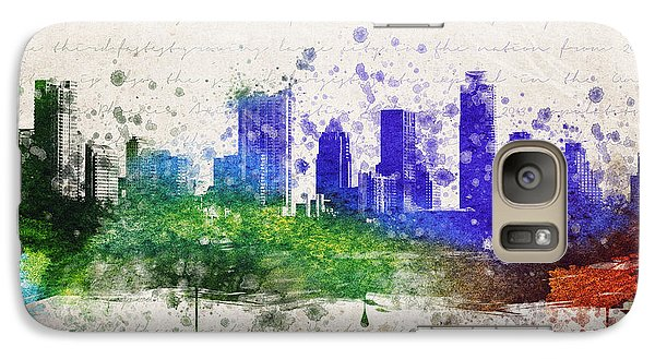 Austin In Color Galaxy Case by Aged Pixel