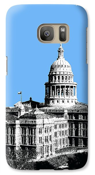 Austin Texas Capital - Sky Blue Galaxy S7 Case by DB Artist