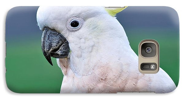 Australian Birds - Cockatoo Galaxy S7 Case by Kaye Menner