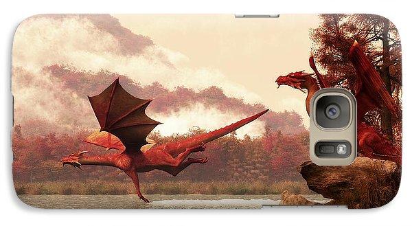 Autumn Dragons Galaxy S7 Case by Daniel Eskridge