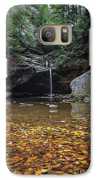 Autumn Falls Galaxy S7 Case by James Dean