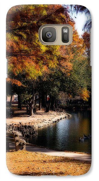 Autumn On Theta Galaxy Case by Lana Trussell