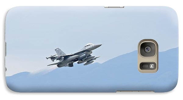 Aviano F16 Galaxy S7 Case by Staff Sgt Jessica Hines