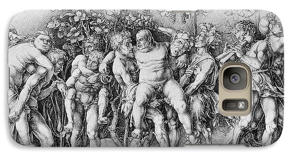 Bacchanal With Silenus - Albrecht Durer Galaxy Case by Daniel Hagerman