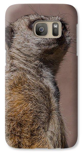 Bad Whisker Day Galaxy S7 Case by Ernie Echols