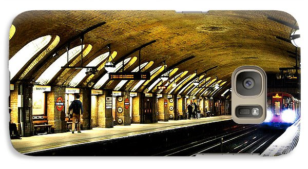 Baker Street London Underground Galaxy Case by Mark Rogan